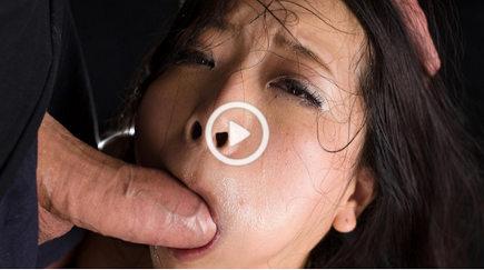 Deep throat face fuck