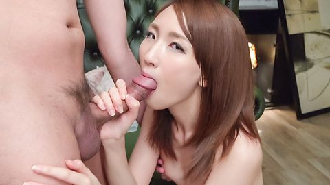 Rika Anna Japan blowjob in superb scenes