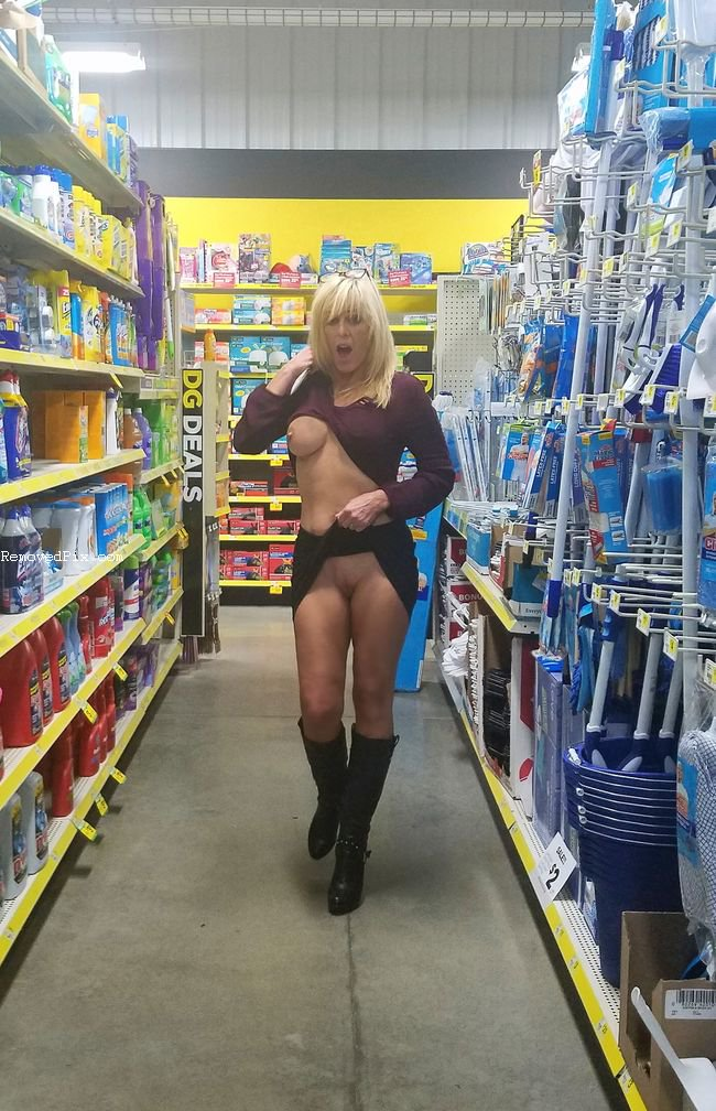 Naughty Girls Flashing In Stores and Women Of Walmart Nude Porn Videos